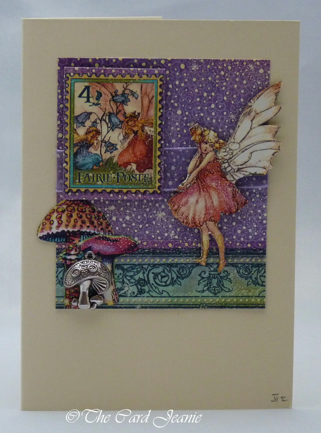Handmade Card - Fairy in the Woods