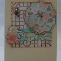 Handmade Card - Pretty Parasol No. 2