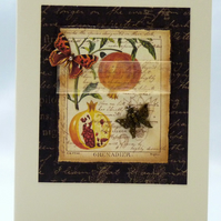 Handmade Card - Botanical Study No.1