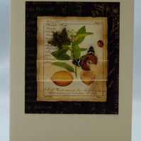 Handmade Card - Botanical Study No. 2