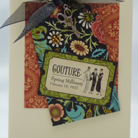 Handmade Card - Couture No. 14