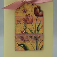 Handmade Card - Spring Flowers No. 4