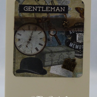 Handmade Card - Gentlemen's Club No. 2