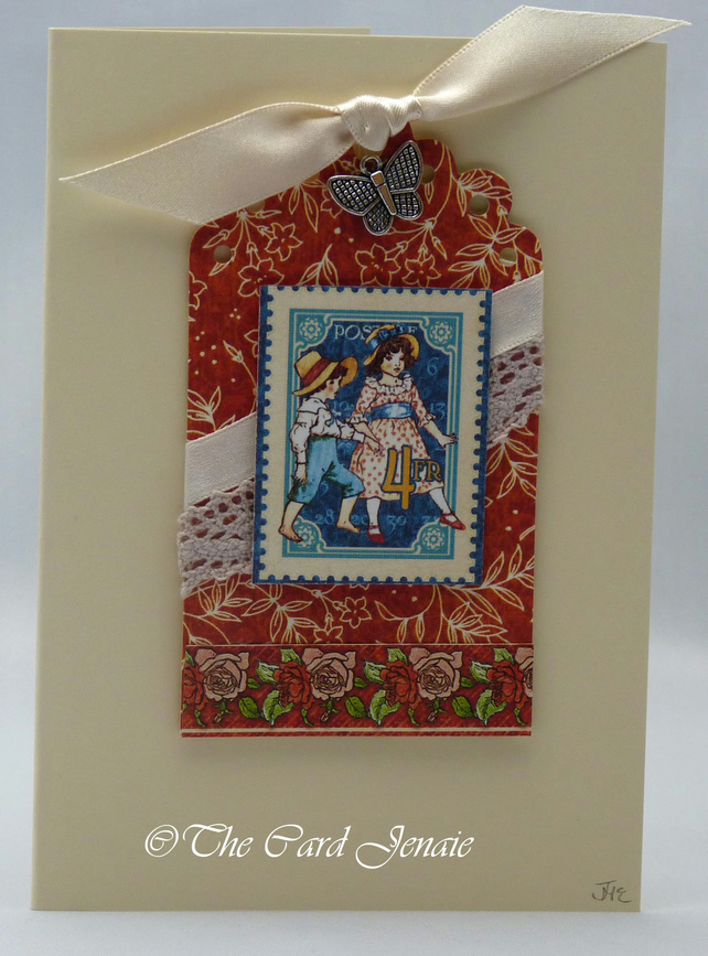 Handmade Card - Children's Playtime No. 1