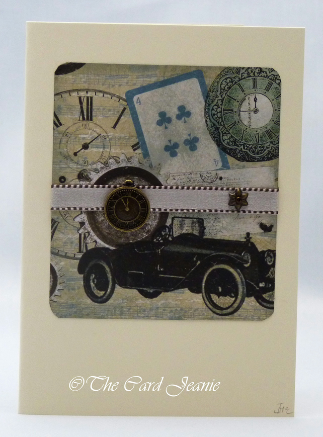 Handmade Card - Gentlemen's Club No. 4