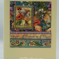 Handmade Card - Magical Fairies