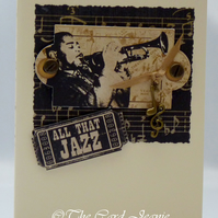Handmade Card - All that Jazz No. 2