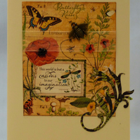 Handmade Card - Summer Meadow No. 3