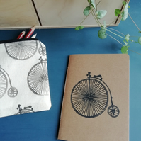 Penny Farthing Notebook