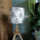 Hand Printed Penny Farthing Lampshade
