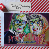 League of Gentlemen Inside No9 fan art digital reproduction Print