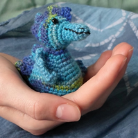 crochet water dragon