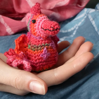 crochet coral dragon  Mascot
