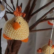 USA hanging chick pattern