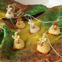 Mini Easter Chick Bunting