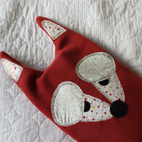 Hot water bottle cover - cozie- Sleepy fox