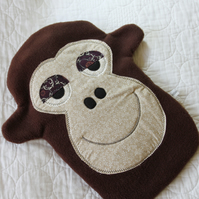 Hot water bottle cover - Monkey
