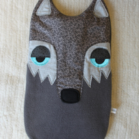 Hot water bottle cover - Wolf