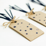 Recycled 'Stars' Gift Tags