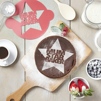 Mothers Day Star Baker Cake Stencil