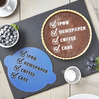 Personalised Fathers Day Cake Stencil
