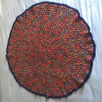 Circular blanket, bright colours