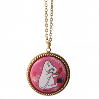 Moominmamma Pink necklace