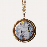 Moomin Family Necklace