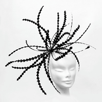 """Aralia"".....Feather Fascinator"