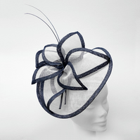 """Iris"".....Sinamay Fascinator"