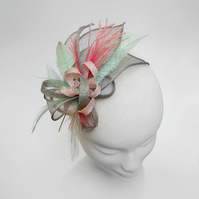 """Lilac"".....Sinamay Fascinator"