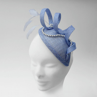 """Myrtle"".....Sinamay Fascinator"