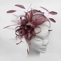 """Rosemary"".....Customizable Fascinator"