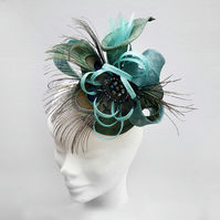 """Holly"".....Sinamay Fascinator"