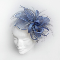 """Erica"".....Sinamay Fascinator"