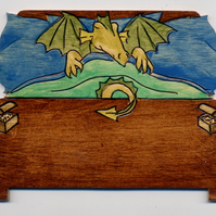 dragon bedroom door plaque