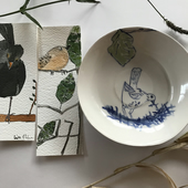 Lisa Slinn Ceramics : Paints On Earthenware
