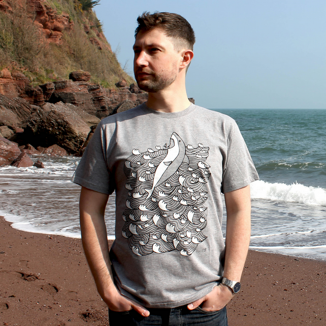 Men's 'King of the Sea' shark T-shirt