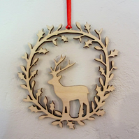 Deer Christmas decoration