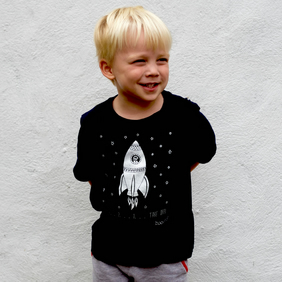862cc92d Love this item · Organic space unisex childrens T-shirt