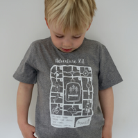 Adventure kit organic childrens T-shirt
