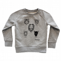 Five cats kids organic sweater