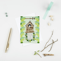 Greetings card 'Happy New Home!' A6 Digitally printed