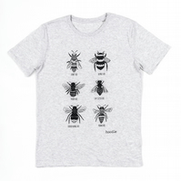 Organic Men's Bee T-shirt