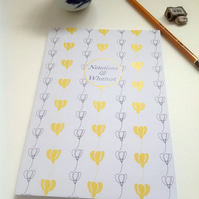 Notations and Whatnot Notebook - Blank or Lined