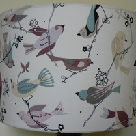 'June Song'  Tea Drum Lampshade