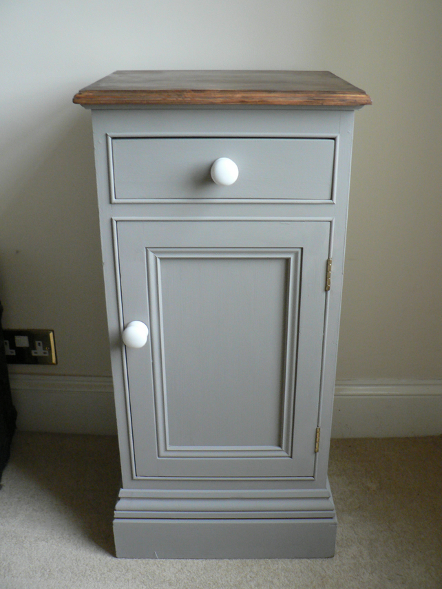 Shabby Chic Bedside Cabinet Pot