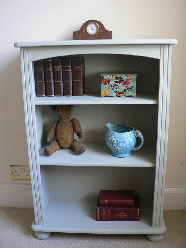 Shabby Chic Bookcases : Shabby chic bookcase shelving unit in annie slo  folksy