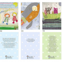 Set of 5  A6 Notebooks