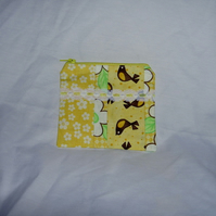 SALE - Purse - Moda 'Birdie' patchwork